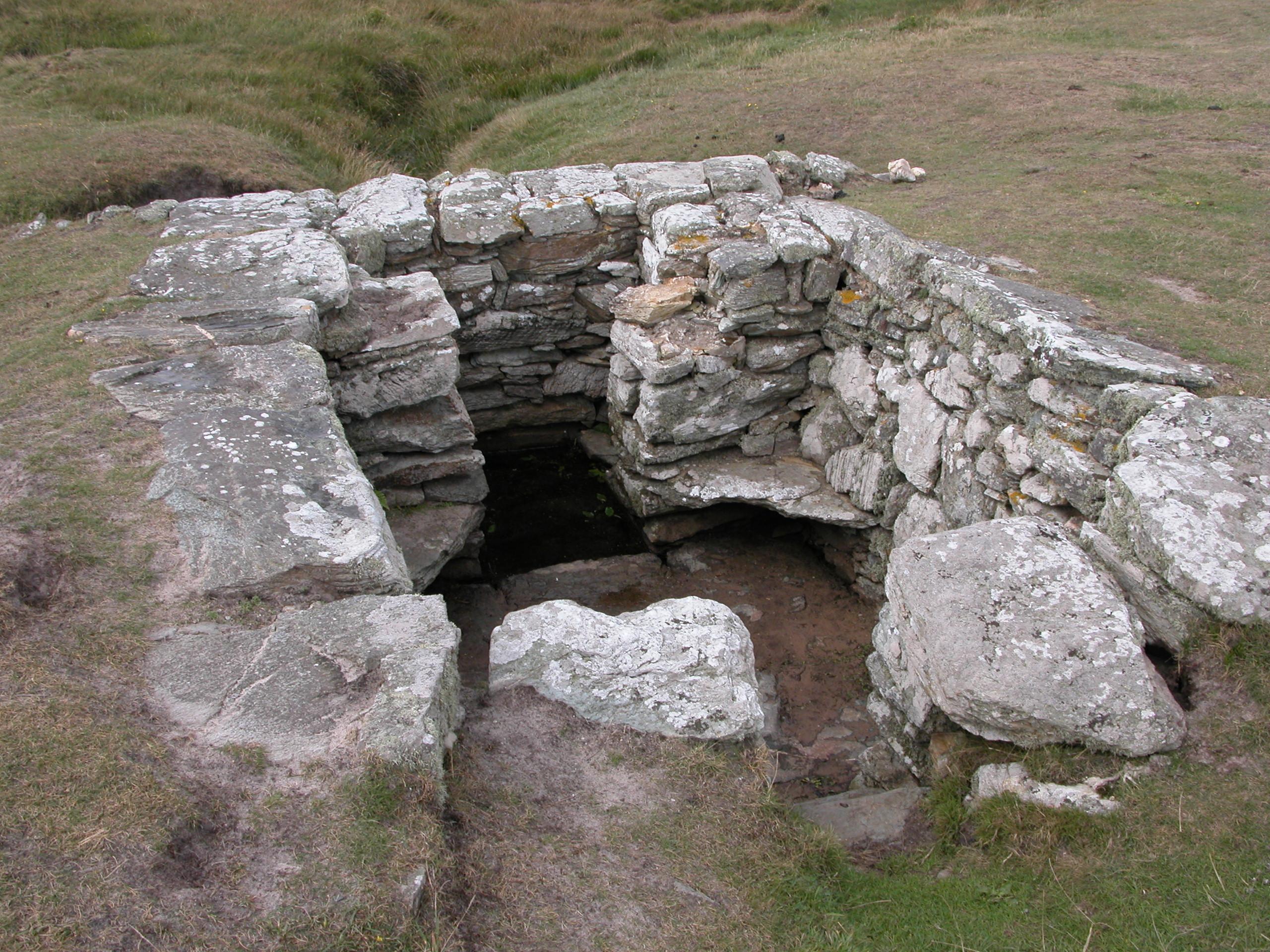 St Gwenfaen's well on Rhoscolyn headland
